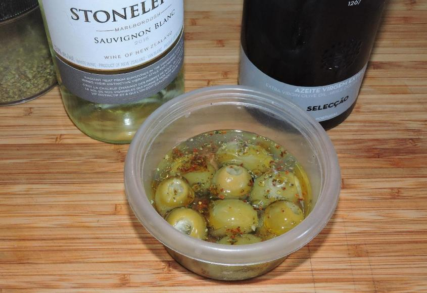 Lemon-Stuffed Olives 3