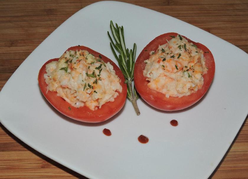 Shrimp Salad Boats 1