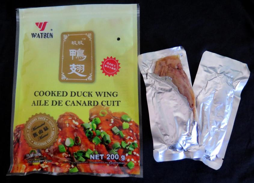 Vacuum-packed Cooked Duck Wing 1