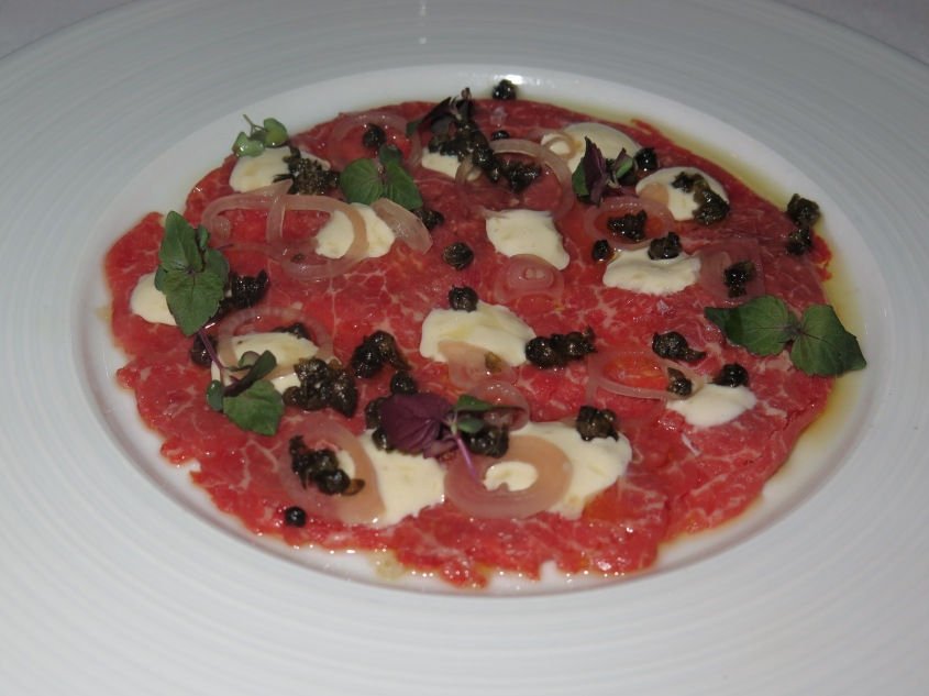 E18teen Beef Carpaccio