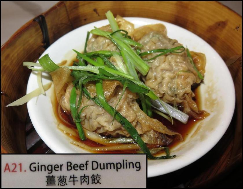 PI Ginger Beef Dumpling