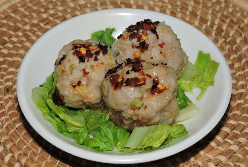 Shrimp and Pork Balls 1