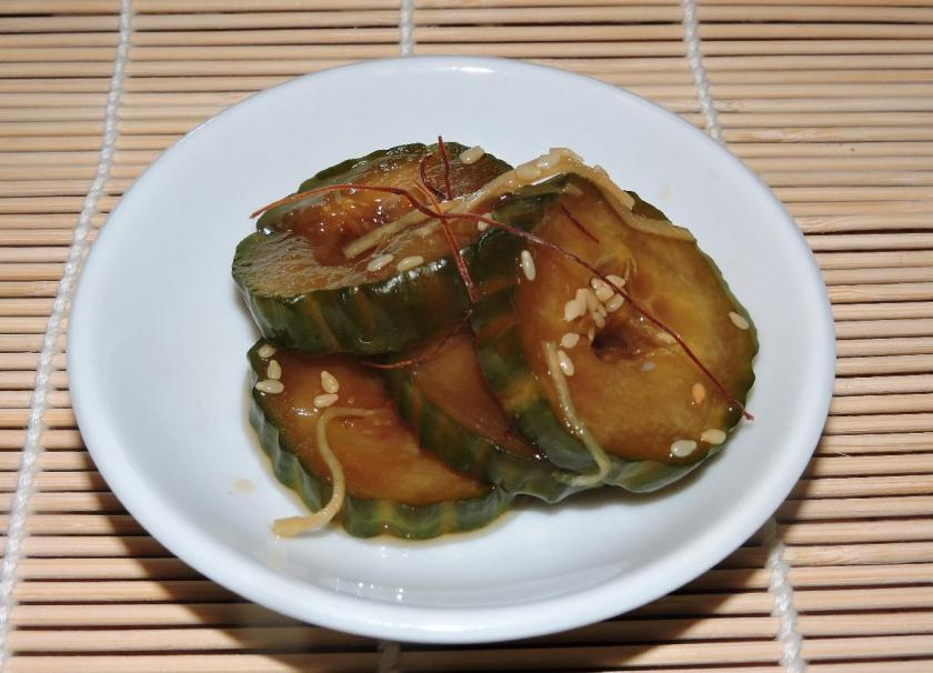 Soy-pickled Cucumber 1