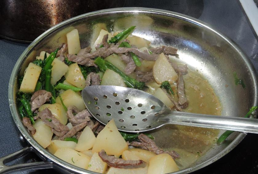 Dashi SImmered Beef and Vegetable 6